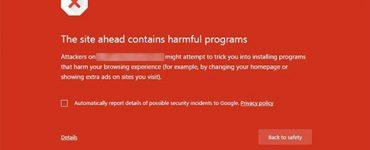 """Cara Mengatasi """"This site ahead contains harmful programs"""" pada Website Wordpress"""