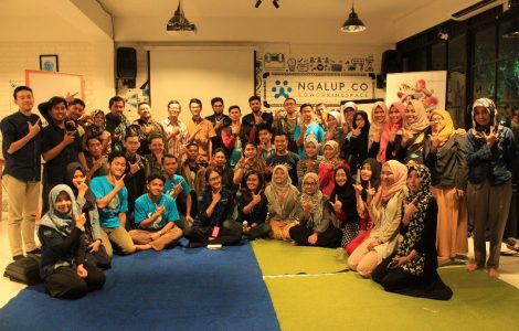 Kolaborasi komunitas Malang