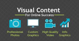 buat konten menjadi visual