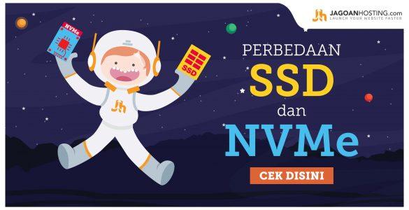 Perbedaan SSD dan NVMe - jagoanhosting.com