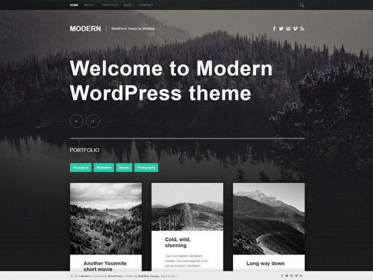 template wordpress gratis