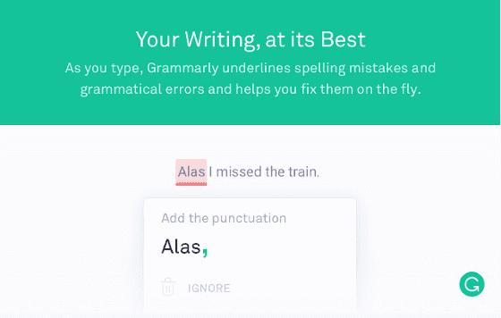 Ekstensi Chrome Grammarly