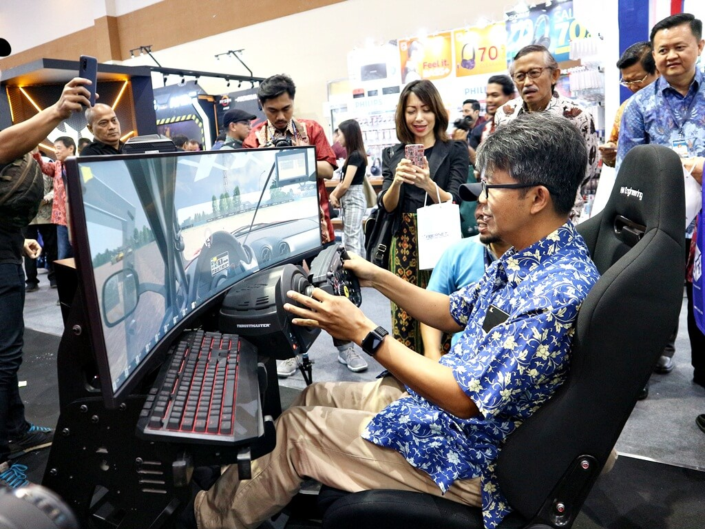 Gaming exhibition indocomtech 2019