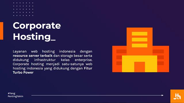 Pengertian Corporate Hosting