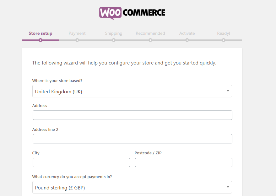 Setting Plugin Woocommerce Toko Online
