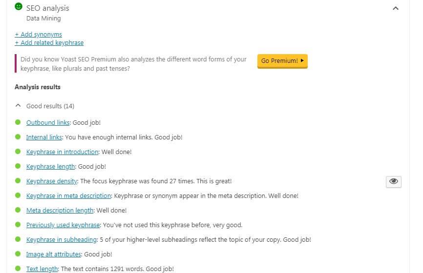mengoptimalkan konten untuk SEO WordPress