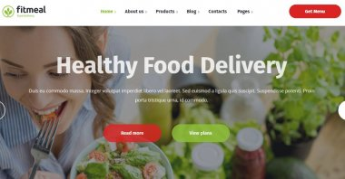 Theme Wordpress Food Delivery