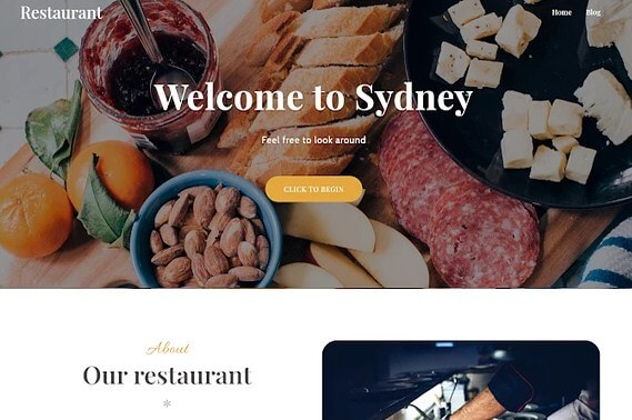 Food Delivery Theme