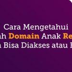 Cara Mengetahui Apakah Domain Anak Reseller Sudah Bisa Diakses atau Belum