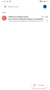 setting email hosting