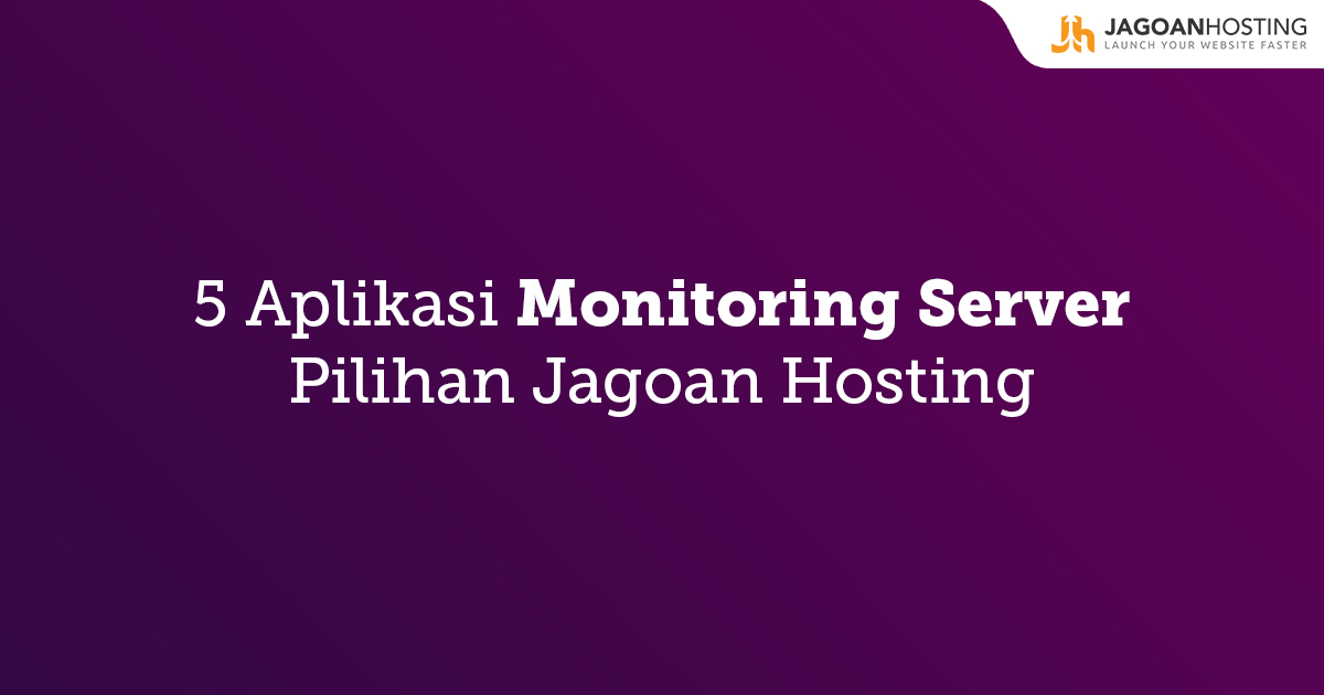 aplikasi monitoring server