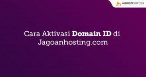 Aktivasi Domain ID