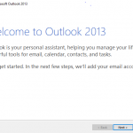Cara Setting Email Cloud Mail di Microsoft Outlook 2013