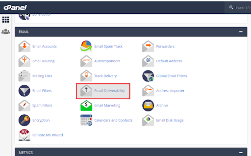 Cara Setting Email Deliverability di cPanel