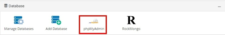 instal webserver dan database webuzo