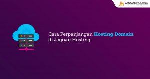 perpanjangan hosting domain