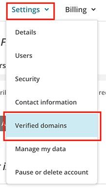 verifikasi domain mailchimp