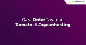 Order Layanan Domain