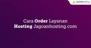 Order Layanan Hosting