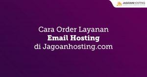 Order Layanan Email Hosting