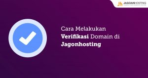 Verifikasi Domain