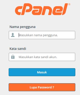 Konfigurasi Cpanel