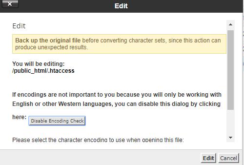 Membuat Script htaccess