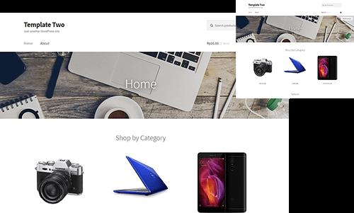 template 3 toko online murah