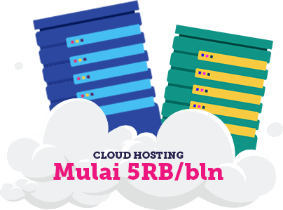 cloud hosting indonesia paling murah
