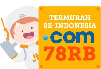 promo domain murah web hosting indonesia