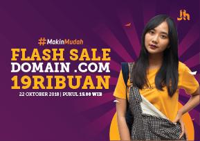 [BOTTOM] Flash Sale COM 19RIBU 22 Oktober 2018