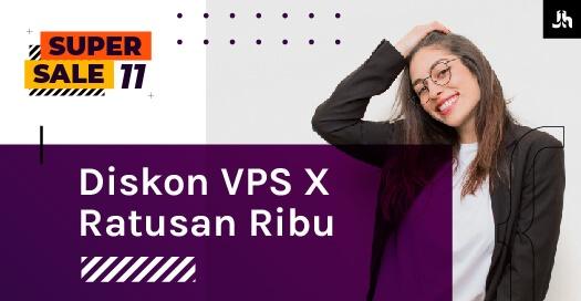 Diskon VPS X Ratusan Ribu Halaman Promo