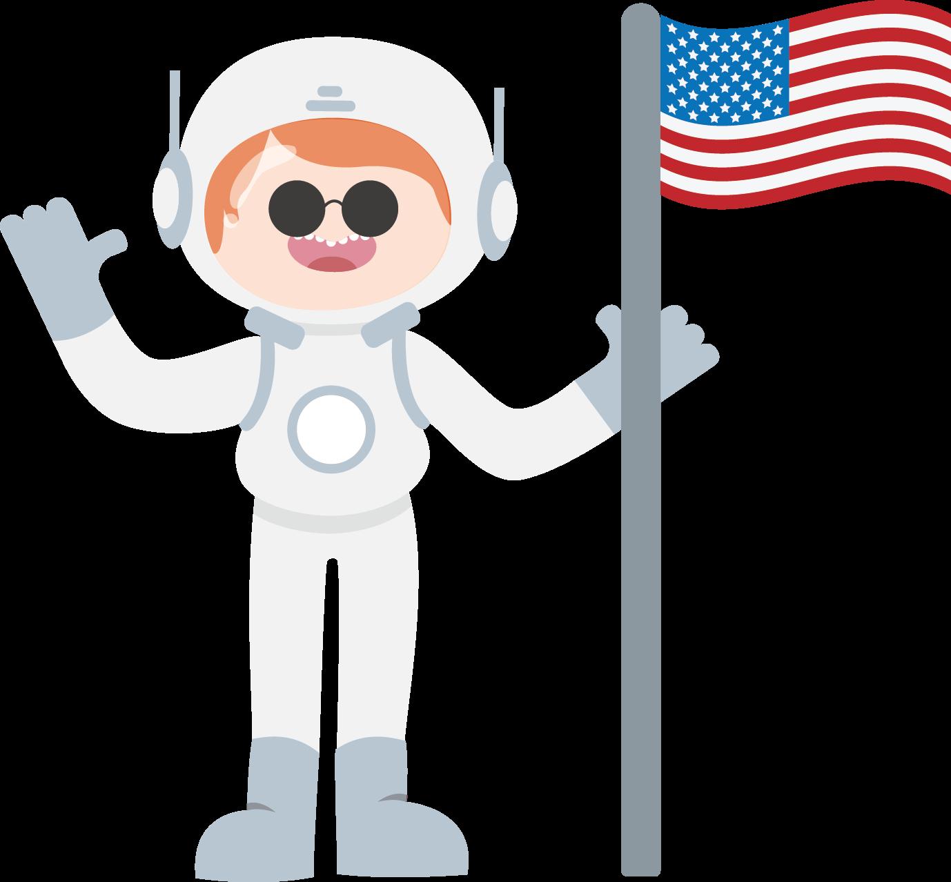 Astronot-US-Jagoan-Hosting-